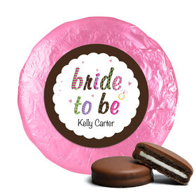 Bride to Be Milk Chocolate Covered Oreo Cookies Assembled