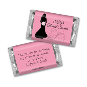 Bride Silhouette MINIATURES Candy Personalized Assembled