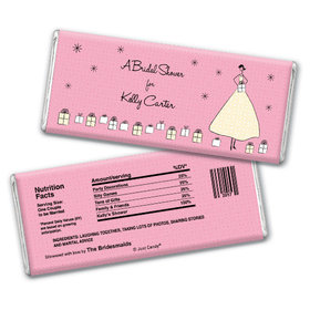 Bridal Shower Favor Personalized Chocolate Bar Many Gifts