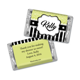 Glamour Bride Personalized Miniature Wrappers