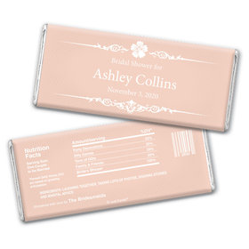 Sweet Shower Party Favors Personalized Candy Bar - Wrapper Only