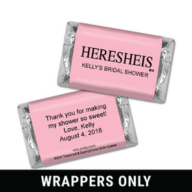 HERESHEIS Personalized Miniature Wrappers