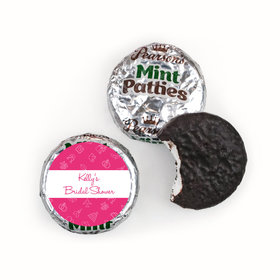Bridal Shower Favors Pink Wedding Symbols Pearson™s Mint Patties