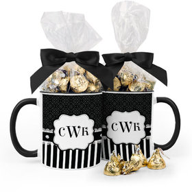 Personalized Bridal Shower Diamonds 15oz Mug with Hershey's Kisses