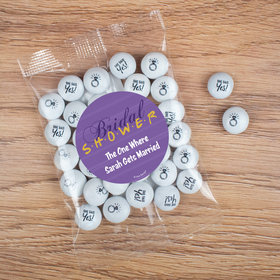 Personalized Bridal Shower Candy Bag with JC Chocolate Minis - The One Where