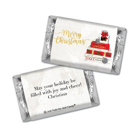 Personalized Hershey's Miniatures - Christmas Holiday Chic
