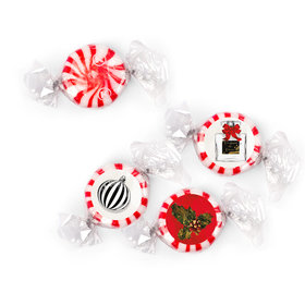Personalized Starlight Mints - Christmas Holiday Chic (405 Pack)
