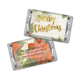 Personalized Hershey's Miniatures - Christmas Holly