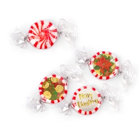 Personalized Starlight Mints - Christmas Holly (405 Pack)