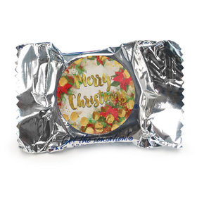 Personalized York Peppermint Patties - Christmas Holly