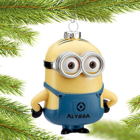 Personalized Despicable Me Minion Dave (two eyes)