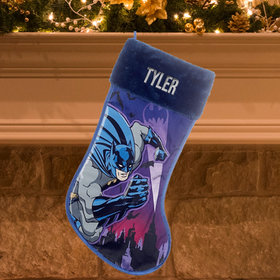 Personalized Batman Stocking