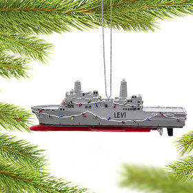 Personalized Navy Ship