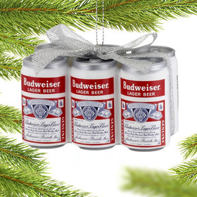 Personalized Budweiser Vintage Six-Pack
