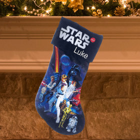 Personalized Star Wars Stocking