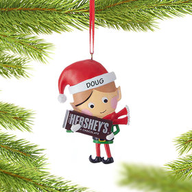 Personalized Hershey Candy Elf (Chocolate Bar)