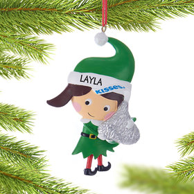 Personalized Hershey Candy Elf (Kisses)