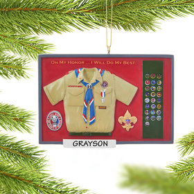 Personalized Eagle Scout Shadow Box
