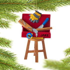 Personalized Toolbox on a Stool
