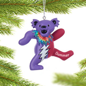 Personalized Grateful Dead Dancing Bear (Pink and Purple)