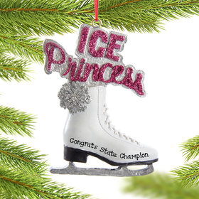 "Personalized ""Ice Princess"" Shoe"