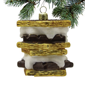 Personalized S'mores Christmas Ornament