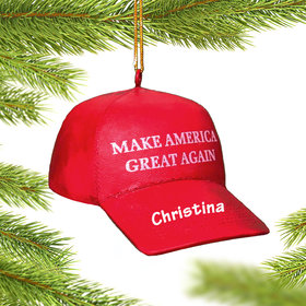 Personalized 'Make America Great Again' Hat