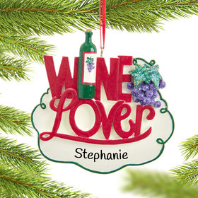 Personalized Wine Lover