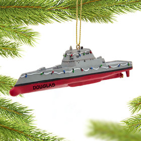 Personalized Navy Destroyer