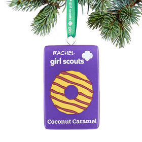Personalized Girl Scouts of USA Coconut Caramel