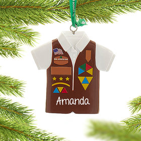 Personalized Girl Scouts of USA Brownies Vest