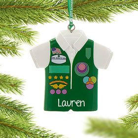 Personalized Girl Scouts of USA Junior Vest