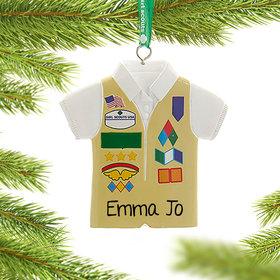 Personalized Girl Scouts of USA Cadette Vest