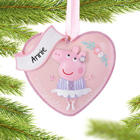 Personalized Peppa Pig Heart