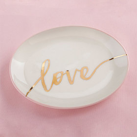 Kate Aspen Trinket Dish - Love