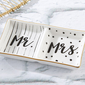 Trinket Dish - Mr. & Mrs. Ring