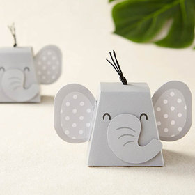 Elephant Favor Box - Set of 12
