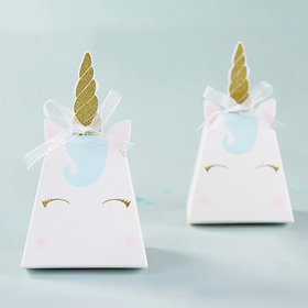 Unicorn Favor Box - Set of 12