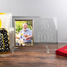 Personalized Picture Frame - Wonderful Years