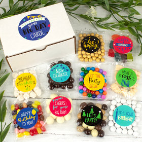 Personalized Birthday Candy Care Package Gift Box - Celebrate You