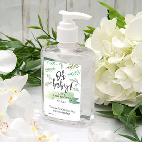 Personalized Baby Shower Oh Baby! Hand Sanitizer - 8 fl. Oz.