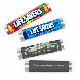 Personalized Baby Shower Oh Baby Lifesavers Rolls (20 Rolls)