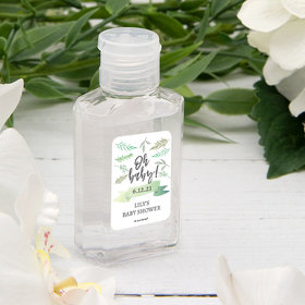 Personalized Baby Shower Oh Baby! Hand Sanitizer - 2 fl. Oz.