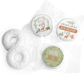 Hello World Personalized Baby Shower LIFE SAVERS Mints Assembled