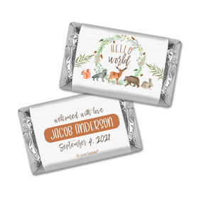 Personalized Baby Shower Hello World Miniature Wrappers
