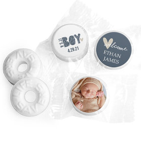 It's a Boy! Personalized Baby Shower LIFE SAVERS Mints Assembled