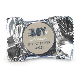 Personalized It's A Boy Birth Announcement York Peppermint Patties
