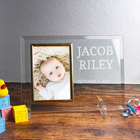 Personalized Picture Frame - Baby Boy