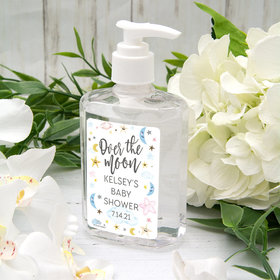 Personalized Baby Shower Over the Moon Hand Sanitizer - 8 fl. Oz.