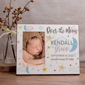 Personalized Picture Frame - Over the Moon